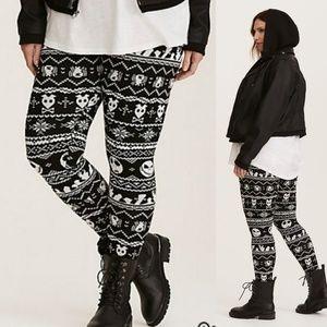 Torrid Nightmare Before Christmas Sweater Leggings